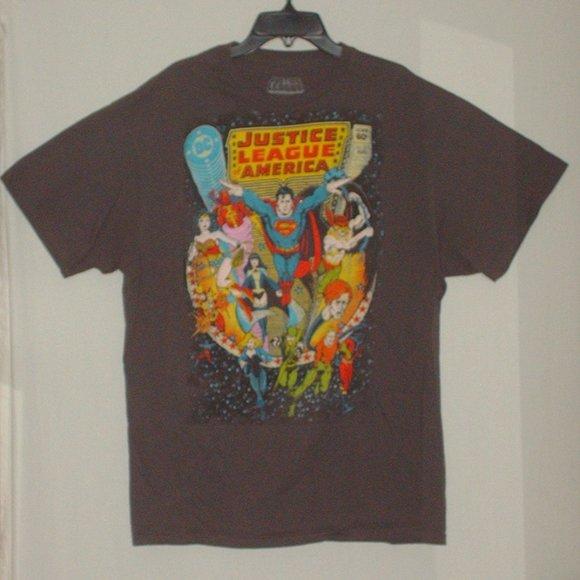 Justice League Other - Classic DC Comics Justice League T-shirt new large